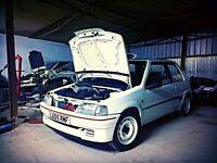 Peugeot 106 rallye s1 (not 106 gti)