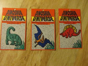 Dinosaur Universe Iron On Sew Patch Embroidered Vintage Toy Dino