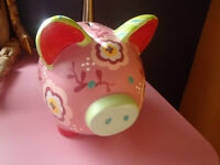 GIRLS PIGGY BANK