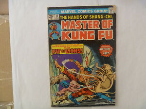 MASTER OF KUNG FU Comics by Marvel