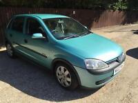 2003 Vauxhall Corsa 1.2 i 16v Elegance Hatchback 5dr Petrol Manual (a/c)
