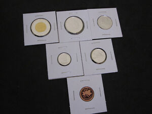 2011 Canada Sterling Silver PROOF 6 Coin Set