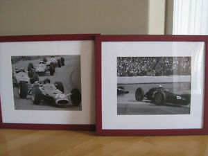 Pottery Barn Framed Race Car Pictures (3) Windsor Region Ontario image 3