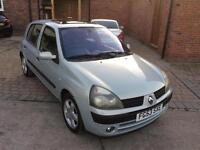 2003 Renault Clio 1.2 16v Dynamique *12 Months MOT *