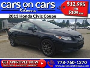 2013 Honda Civic Coupe w/BlueTooth, USB Connect, Satellite Radio