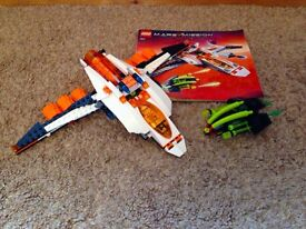 Lego Space Mars Mission MX-41 Switch Fighter Complete