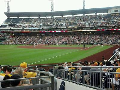 1-2 Milwaukee Brewers @ Pittsburgh Pirates PNC Park Tickets 5/5/17 Sec 131 Row E