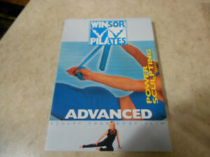Winsor Pilates 2 Dvd's and new resistance band