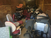 CHAIRS  WITH WHEELS  MANY TO CHOOSE FROM!!! London Ontario Preview