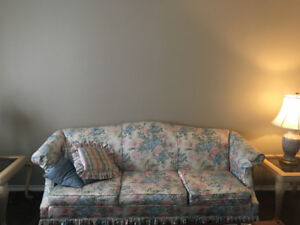 Couch, Love Seat & Wingback Chair