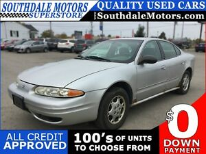 2002 OLDSMOBILE ALERO GX * PREMIUM CLOTH SEATING