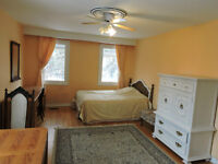 Furnished Bachelor Apartment walk to subway, Step to Bus