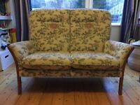 Vintage Ercol two seater sofa.