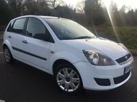 2007 57 FORD FIESTA 1.4 TDCI STYLE CLIMATE WHITE 5DR HATCH, GENUINE 83K