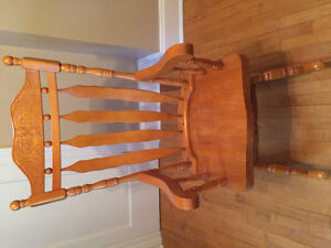 For sale  - Solid Hardwood Rocking Chair