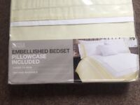 Marks and Spencer single quilt cover set - NEW