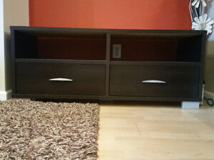 2 Drawer TV Bench- good condition