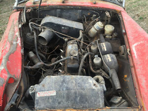 1972 / 73 MG Midget complete original parts car Windsor Region Ontario image 2