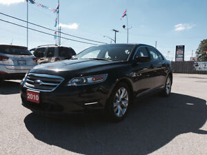 2010 Ford Taurus SEL Sedan * LEATHER * BACK UP SENSOR * CERTIF