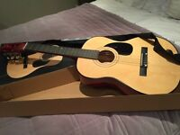 John Lewis Child's wooden acoustic guitar 6+years