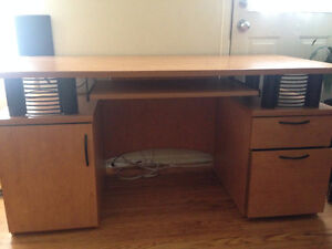 Brown desk on sale for only $100