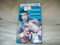 "(ATTENTION! = LOOK)wrestling vhs lot for sale BRET ""HITMAN"" HART"