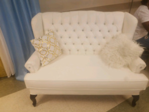 FOR RENT WING BACK ACCENT CHAIR