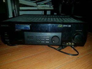 Kenwood audio receiver 6 channel vr-506