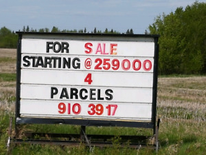 Land ...BUILD in STRATHCONA COUNTY. 4 Lots POWER / GAS