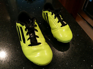 Addidas kid's soccer shoes