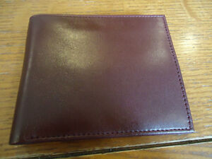 Genuine Leather Emirates Wallet (Burgundy)