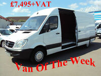 2013 MERCEDES BENZE SPRINTER 2.1TD 313CDI LWB HIGH ROOF WHITE DIESEL VAN