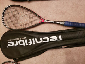 Squash Racquets (Head/Technifibre/Black Knight)