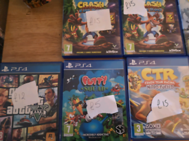 Ps4 games all in great condition see pics individually priced grab a b