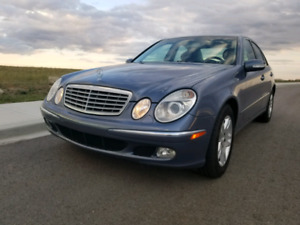 Mercedes E320 2003, Winter Ready, Well Maintained