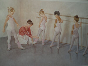 "John Newby - "" At the Barre "" - Limited Edition Print Kitchener / Waterloo Kitchener Area image 9"