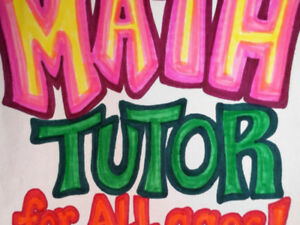 Math Tutoring $5 Assignements  Any Grade Tutoring  Math
