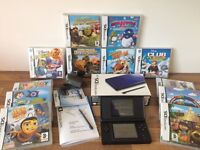 COBALT BLUE NINTENDO DS BUNDLE