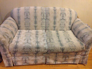 Vintage Couch and Love Seat Set