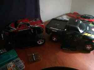 2 rc trucks and tons of parts 500 obo