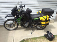 Wolfman Expedition Panniers with racks for KLR 650