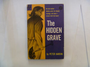 THE HIDDEN GRAVE by Peter Hardin - 1955 Paperback