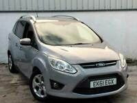 2011 61REG FORD GRAND C-MAX 1.6 TDCI ZETEC*** 7 SEATER**