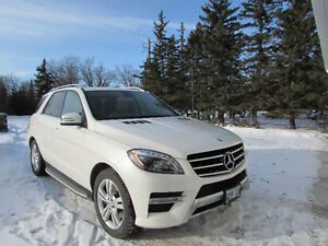 2013 Mercedes-Benz M-Class ML350 Buetec SUV, Crossover