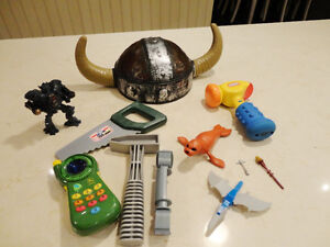 12 Pc.Kids Toy Set - A Cool John Deere Pretend Cell Phone & More Kitchener / Waterloo Kitchener Area image 1