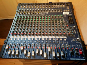 Yamaha 20 channel mixing board
