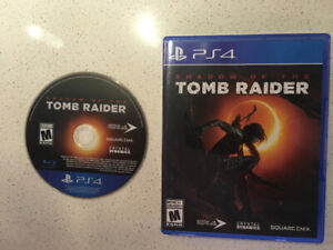 Échange Shadow of the tomb raider (ps4)
