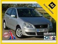 2007 Volkswagen Polo 1.4 S 5dr Auto Hatchback Petrol Automatic