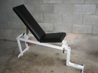 ParaBody Incline Flat Bench gym weights exercise