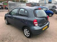 Nissan Micra 1.2 12v * Visia * 2012 * LOW MILES ONLY 60K * YEARS MOT *